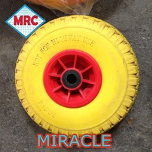 cheap price made in CHINA factory manufacturer directly PU foam wheel/wheelbarrow tire 3.00-4