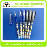 Hot-selling Free Sample CT-908 Multicolor Gel Ink Pen