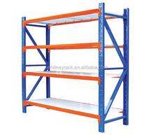 cheap shelving system warehouse steel slanted wall shelving, multi storage rack wire