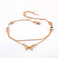 Indian anklet jewelry Belly dancing jewelry belly dance anklet of butterfly bracelet from online store suppliers