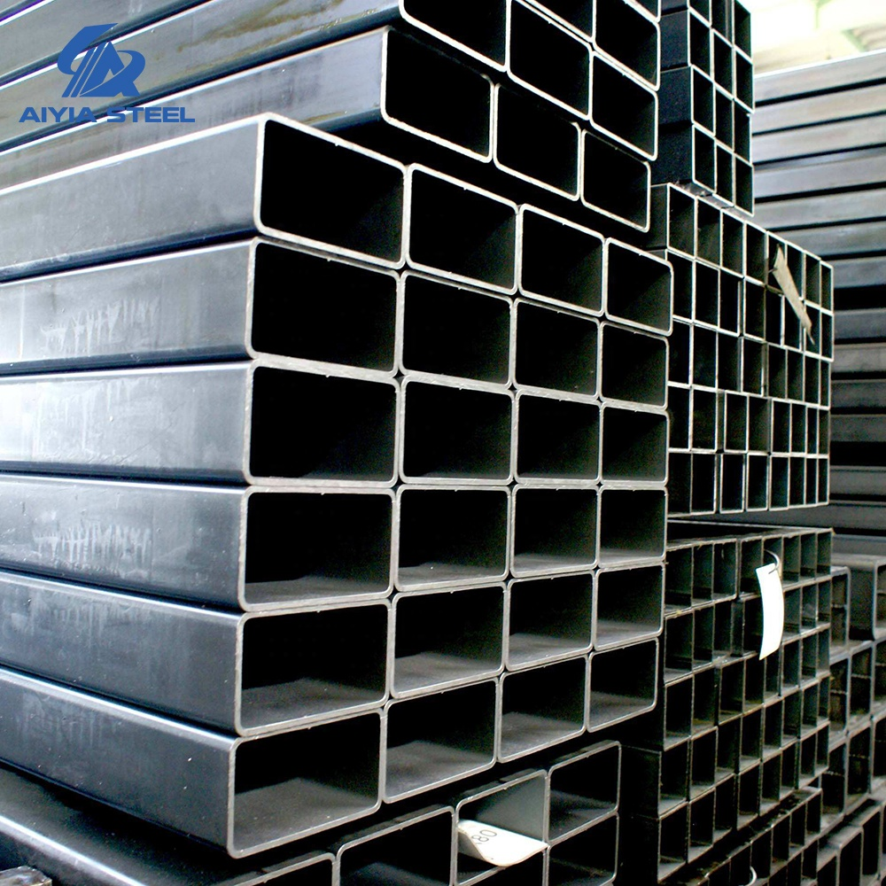 AIYIA Q195/Q235 Galvanized Rectangular steel <strong>tube</strong> for building material and greenhouse