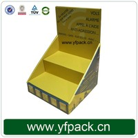 Custom Small Cardboard Paper Printed Corrugated Retail Counter Display Box