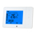Touch panel screen thermostat with 3 speed fan controller