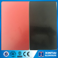 Colour Coated Diamond Pattern Embossed Aluminum Coil 1100 H16 for Roofing sheet