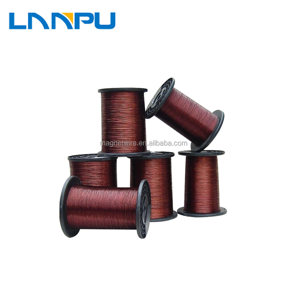 Round color swg34 enameled aluminum wire