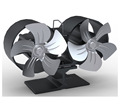 twin blade stove fan
