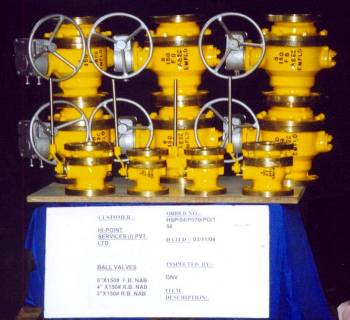 Offshore Platform Pipeline Ball Valves