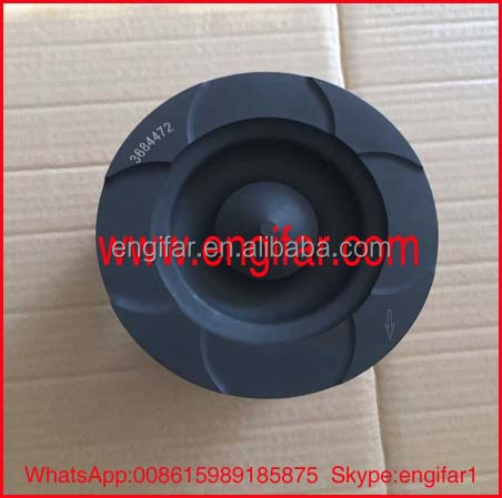 iron cast piston for engine 3684472 piston liner kit assy