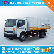 2017 New DFAC 6 ton Rubbish Dump Truck Sealed Garbage Truck for sale