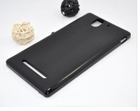 slim armor protective pudding tpu waterproof case for SONY Xperia C3