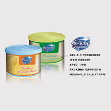 Household chemicals gel air freshener deodorant perfume