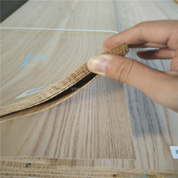 crown cut American red oak natural wood veneer for furniture