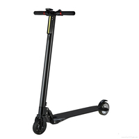 New Products 23km/h two wheel smart retro electric scooter motor adult folding Invisible batteries
