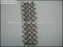 Aluminum/SS decorative wire mesh for cabinets