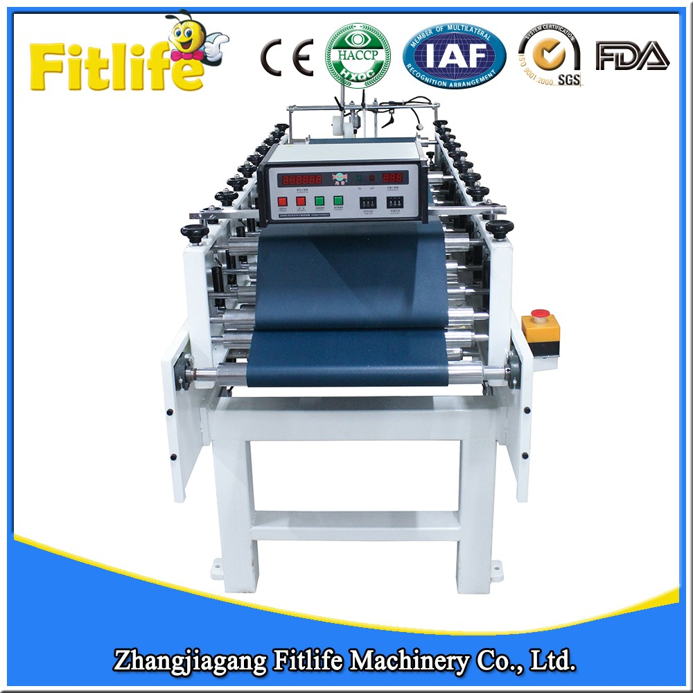 High Speed Aluminum Foil Paper Gluing Machine