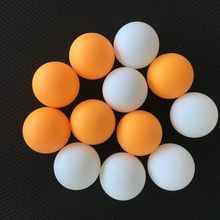 Balles De Ping - Pong Seamless 1 Star Plastic Professional Training Table Tennis Ball Standard Ping Pong Ball Printing