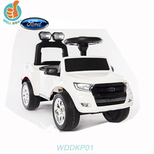 Multifunctional Licensed FORD RANGER Foot to Floor wholesale car tires, can change into swing car with parents push bar WDDKP01
