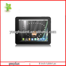 8 inch screen rockchip RK2928 1.2G android 4.1 cheap tablet pc