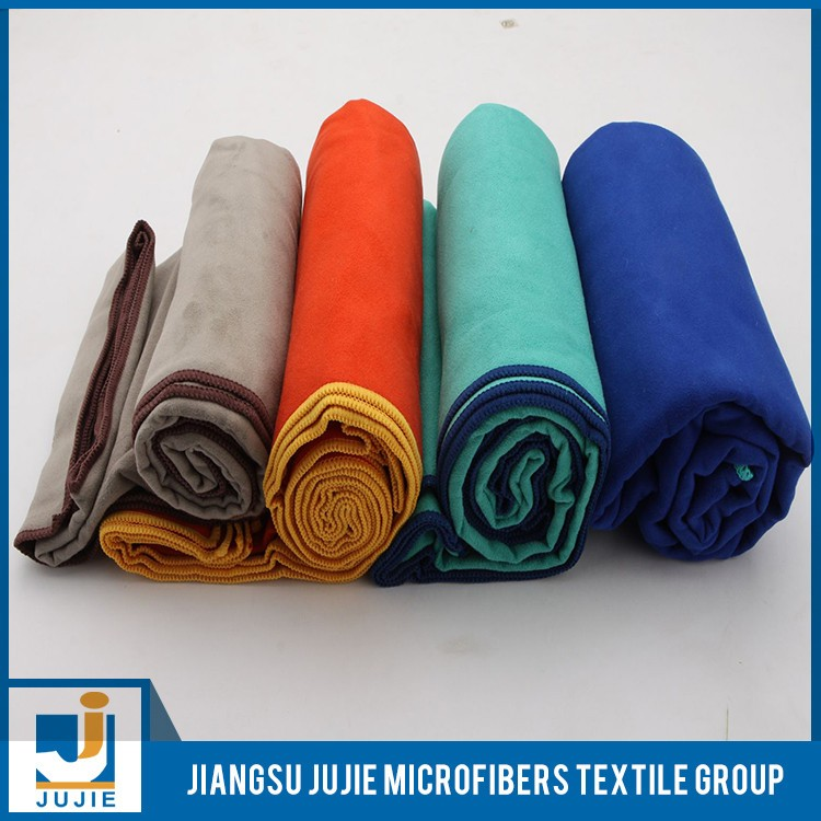 Sell well new type colorful microfiber sports travelling beach towels