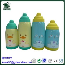 200ml/280ml double wall cartoon design vacuum flask and thermos for baby/children