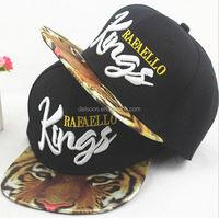 QQBC110 Custom fashion stitching logo baseball caps New Kings embroidered snapback hat