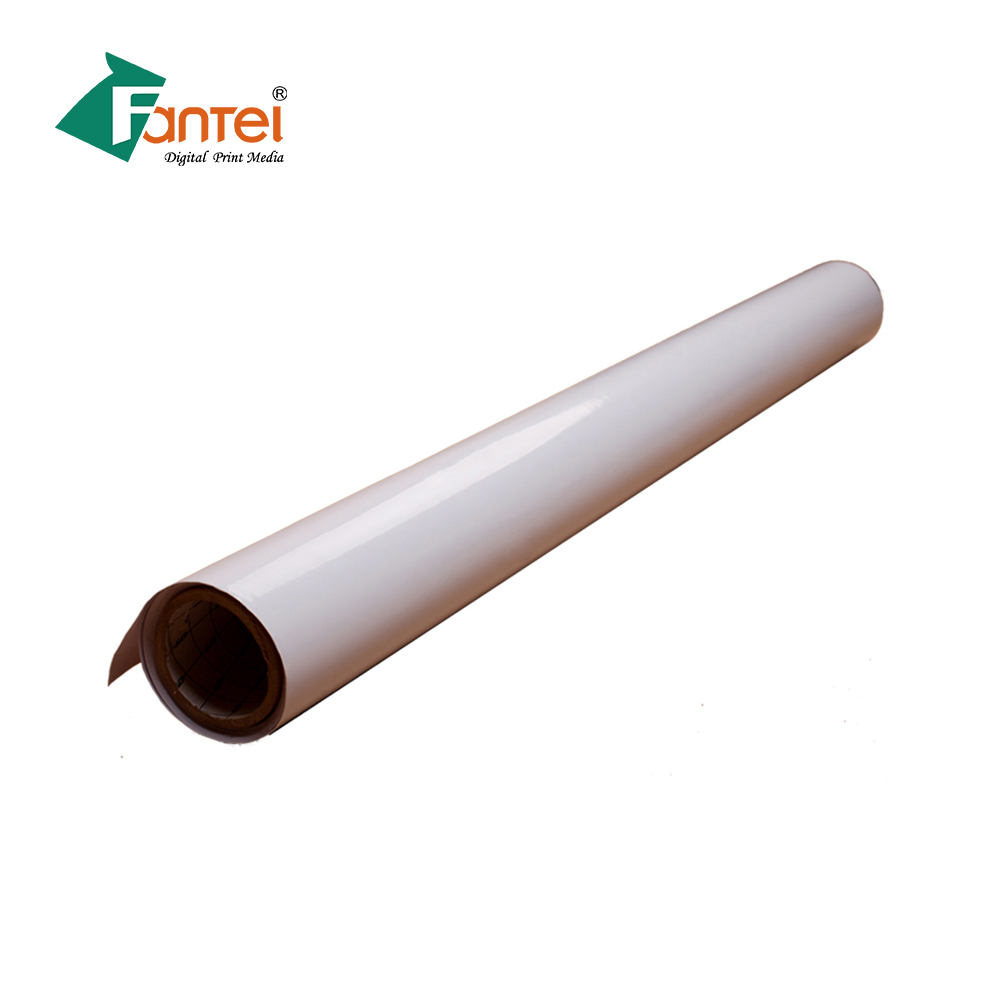 Printing Materials 140gsm Polymeric Self Adhesive Vinyl Sticker