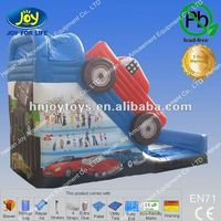 Big Inflatable 2012 Advertising Car Inflate Bouncy Slide