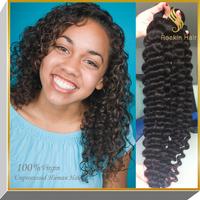 Unprocessed Deep Wave Virgin Peruvian Hair, Aliexpress Hair,100 Human Hair Weave Brands Peruvian Virgin Hair Products