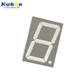 Single digit big size KHN11501ASR0D-1A one digit 1.5inch Red color 1 digit big 7 segment display