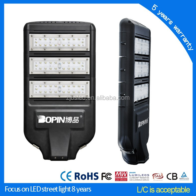 120w street light led solar outdoor lighting
