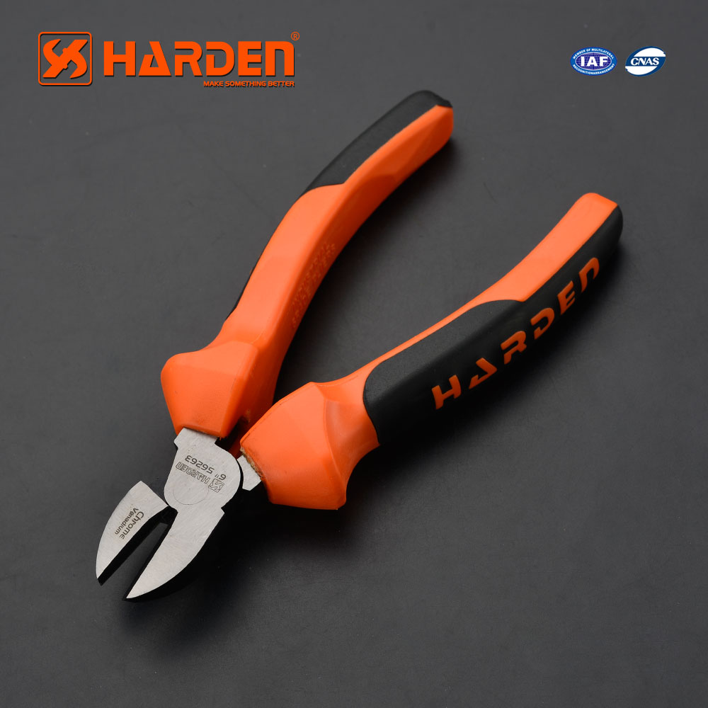 "6"" CRV Wire Cable Diagonal Side Cutting Plier Cutters Stripper"