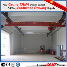 LX model Electric Single girder Suspension Overhead Crane