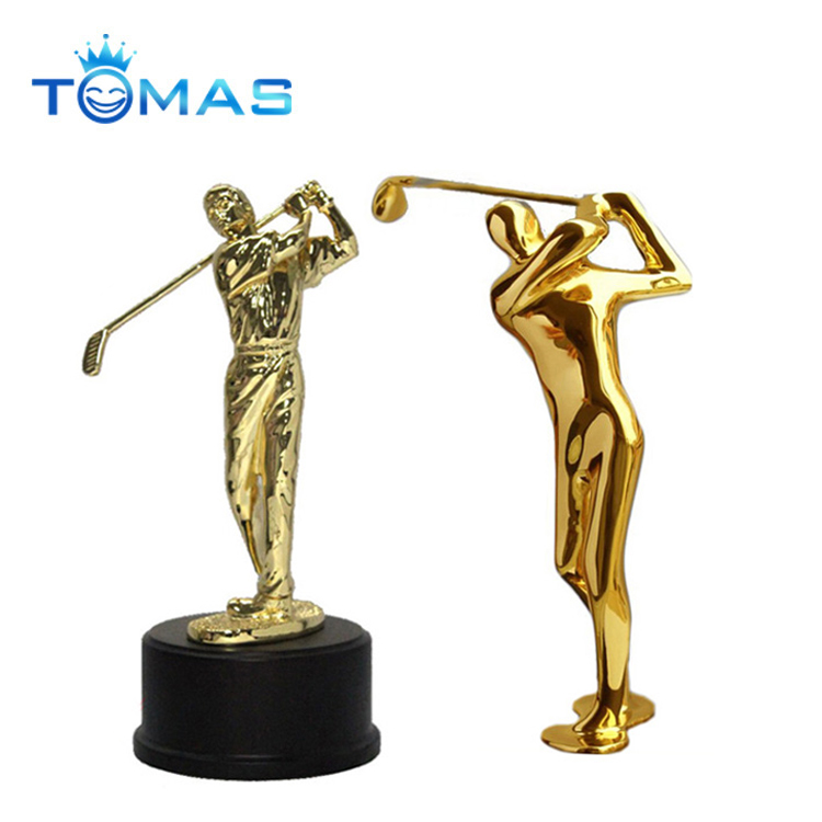 New and unique decoration resin golf trophy figurines