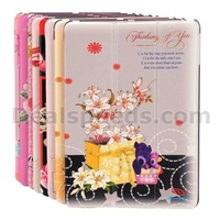 Manleybird Crystal Diamond Slim Tri-Fold Design Flip Stand PC+Leather Cover Case for iPad 4 iPad2 The New iPad