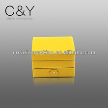 High-end Grade Atmosphere High Quality Luxury Jewelry Roll Ring Boxes