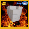 Large tin bath bottom brick refractory brick for glass melting furnace