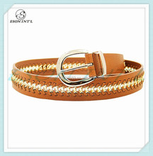 2015 Hot Sale Promotional Wholesale New Designed Women Belt, Fashion Belt, Leather Belt