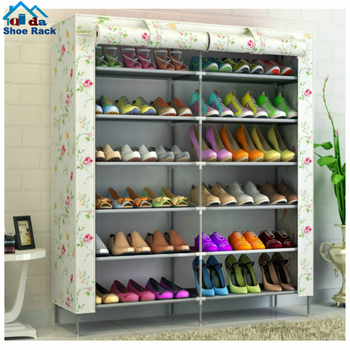 Standing portable 10 tiers shoes tower shoe rack storage organizer