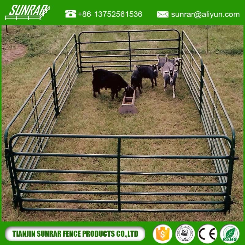 new design 5 bar galvanized cow corral panel