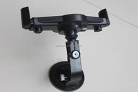 manufactory New plastic suction cup tablet pc car holder stands for ipad without headrest