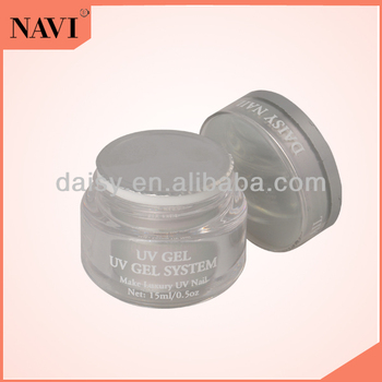 Nail Art 15 ML UV Gel Silver Bottle 4 Colors Gel