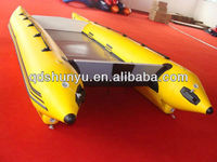 CE imported 1.8mm pvc inflatable catamaran for sale