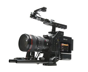 ASXMOV dslr Video gh5 Camera rig with handle grip