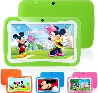 Kids Education Tablet PC 7 inch RK3126 Dual core Android 4.2 Bluetooth 512MB RAM 8GB ROM Kids Games & Apps mini tablet