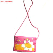 Lovely Magic Polyester Custom Children Wallet with string