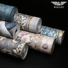 Pvc waterproof beautiful wallpaper home decoration wall paper rolls prices