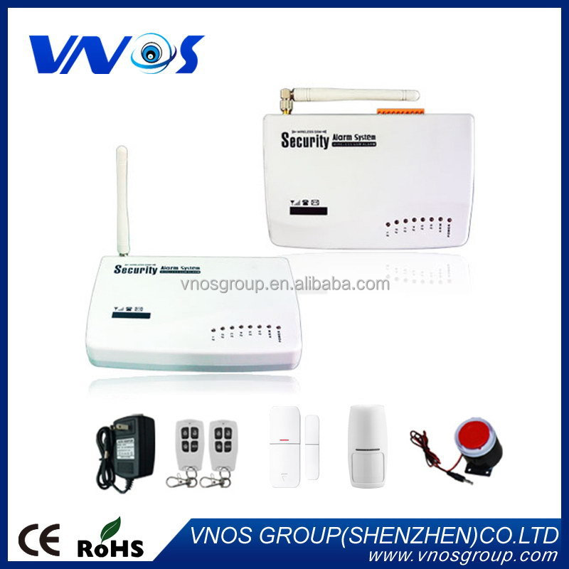 English/Russian/French/Spanish wireless gsm alarm system home security burglar alarm system with Android/Iphone app