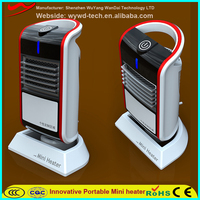 2016 hot new product PTC stand electric fan heater