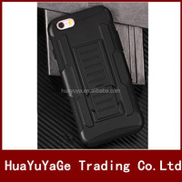 Free Shipping 3 in 1 Future Armor Belt Clip Holster kickstand case for Apple iphone 6 6S Plus
