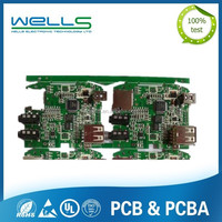FR4 printed circuit board with ENIG surface